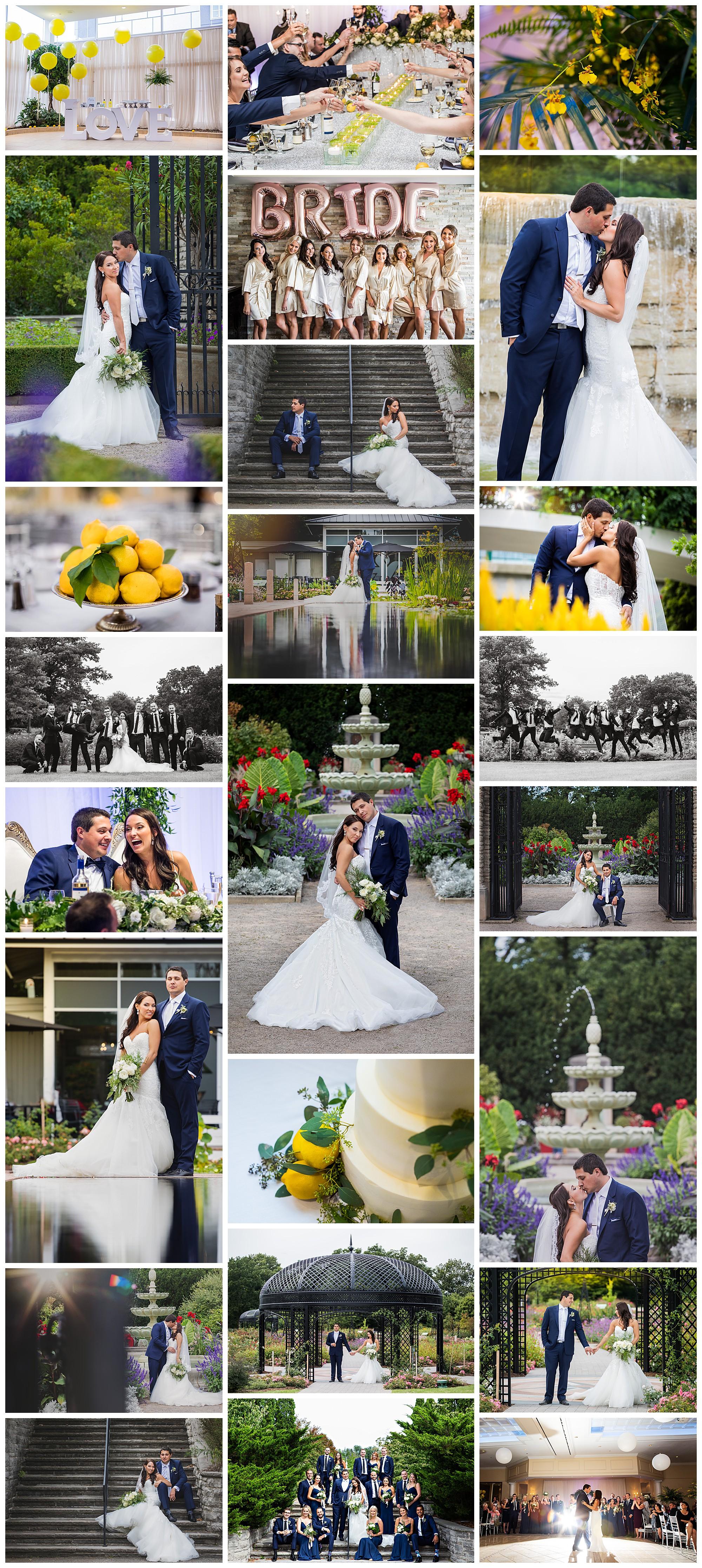 Burlington Convention Centre, Burlington, Ontario wedding photography by VanDaele & Russell