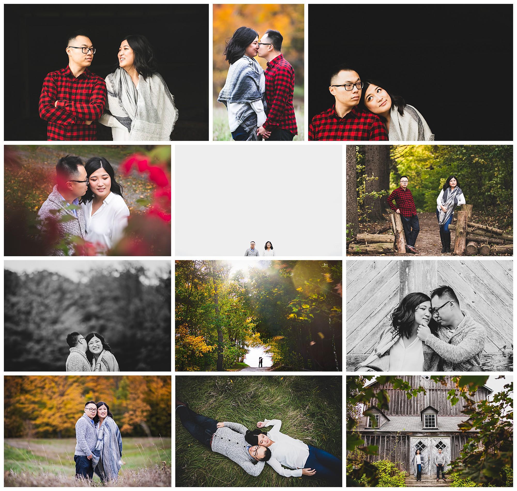 Scotsdale Farm, Halton Hills, Ontario engagement photos by VanDaele & Russell
