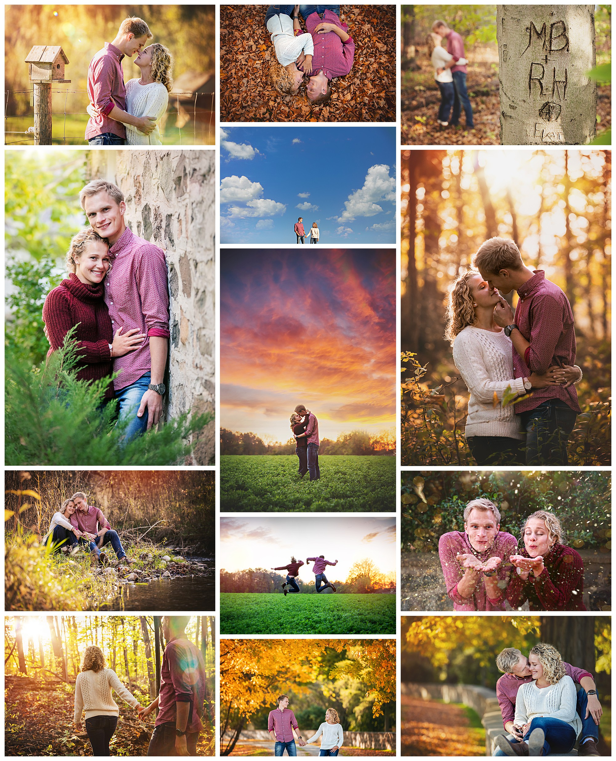 Thorndale, Ontario engagement photography by VanDaele & Russell