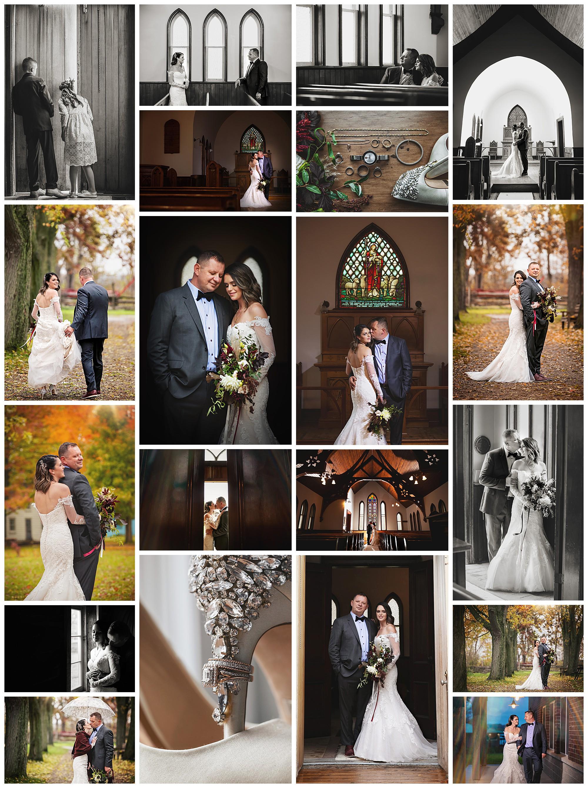 Fanshawe Pioneer Village, London, Ontario wedding photography by VanDaele & Russell