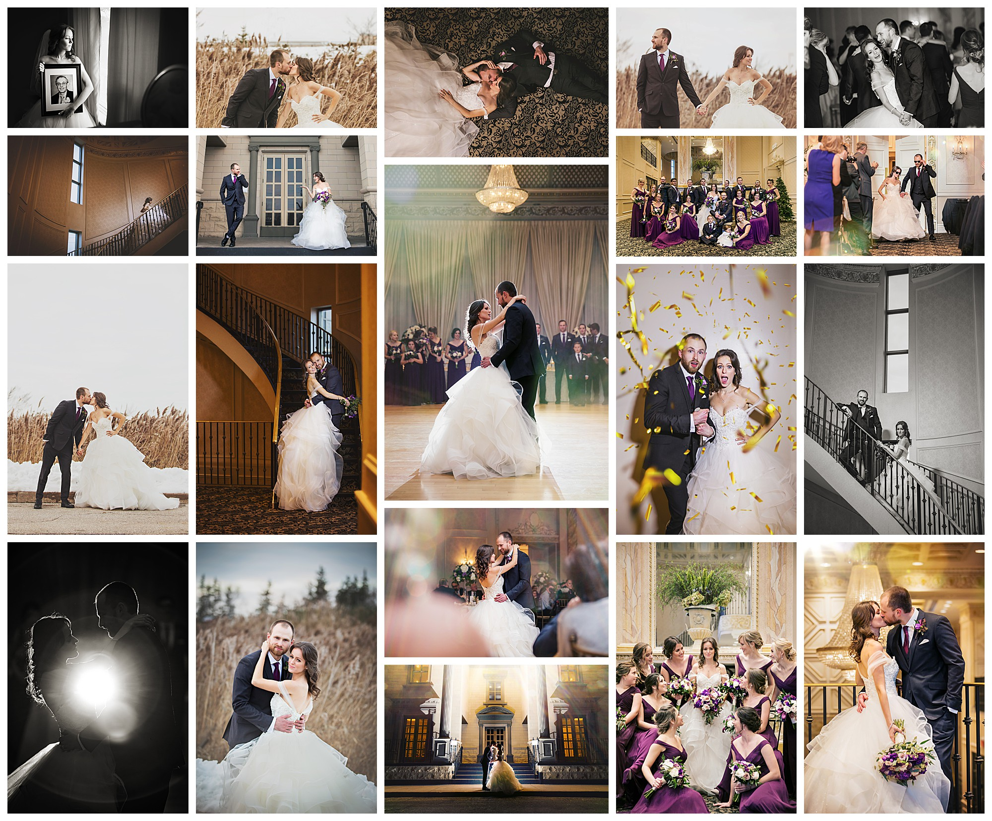 Chateau LeJardin, Woodbridge, Ontario wedding photography by VanDaele & Russell