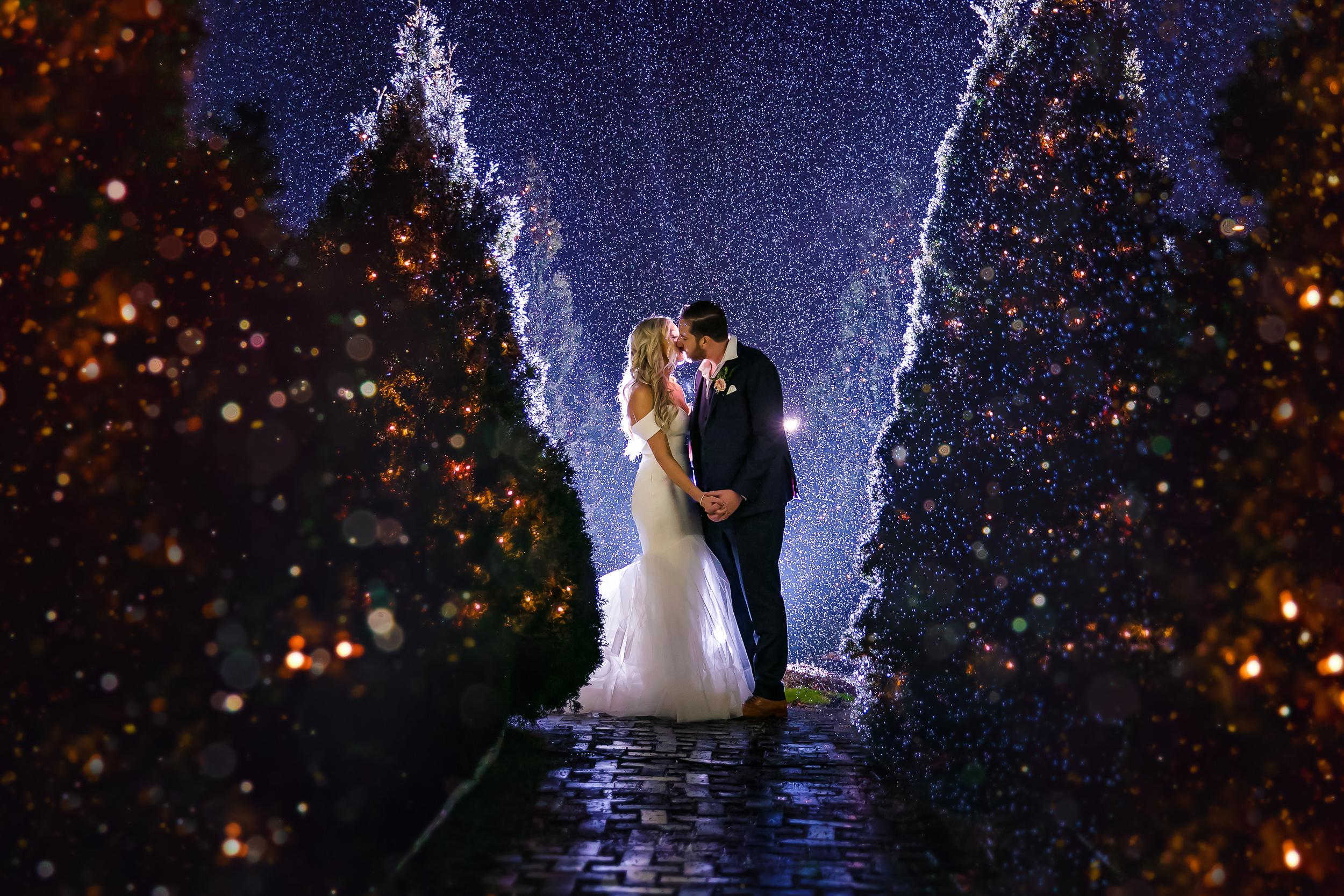Michelle & Matt's New Year's Eve Wedding at Hacienda Sarria