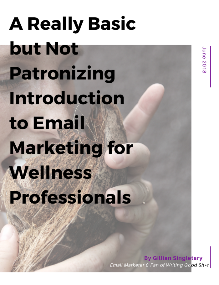 Email Marketing for Wellness Professionals