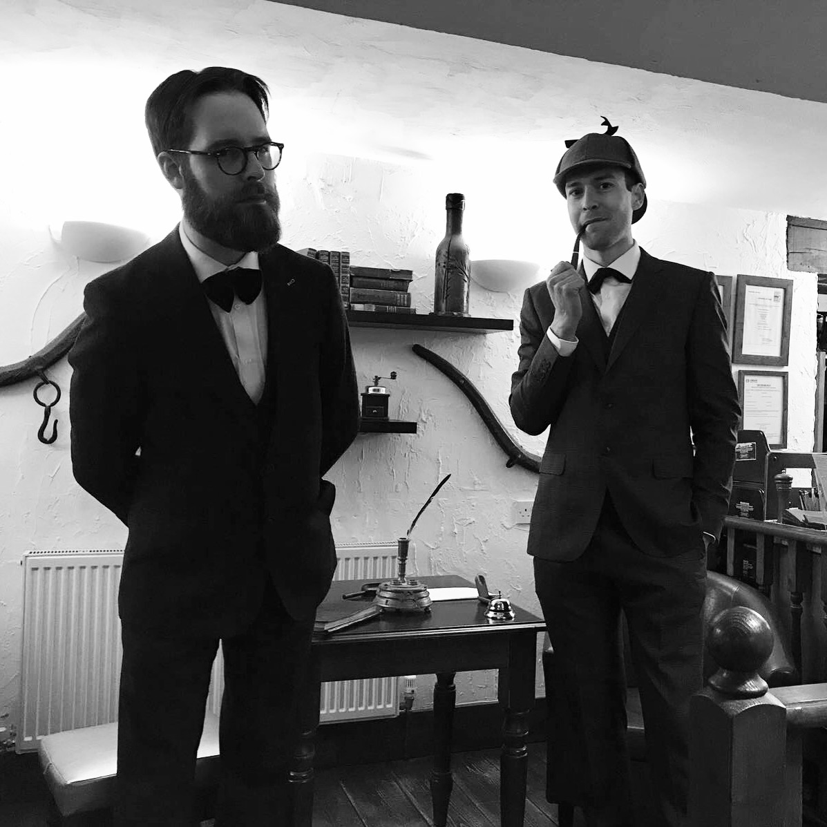 Holmes & Watson in