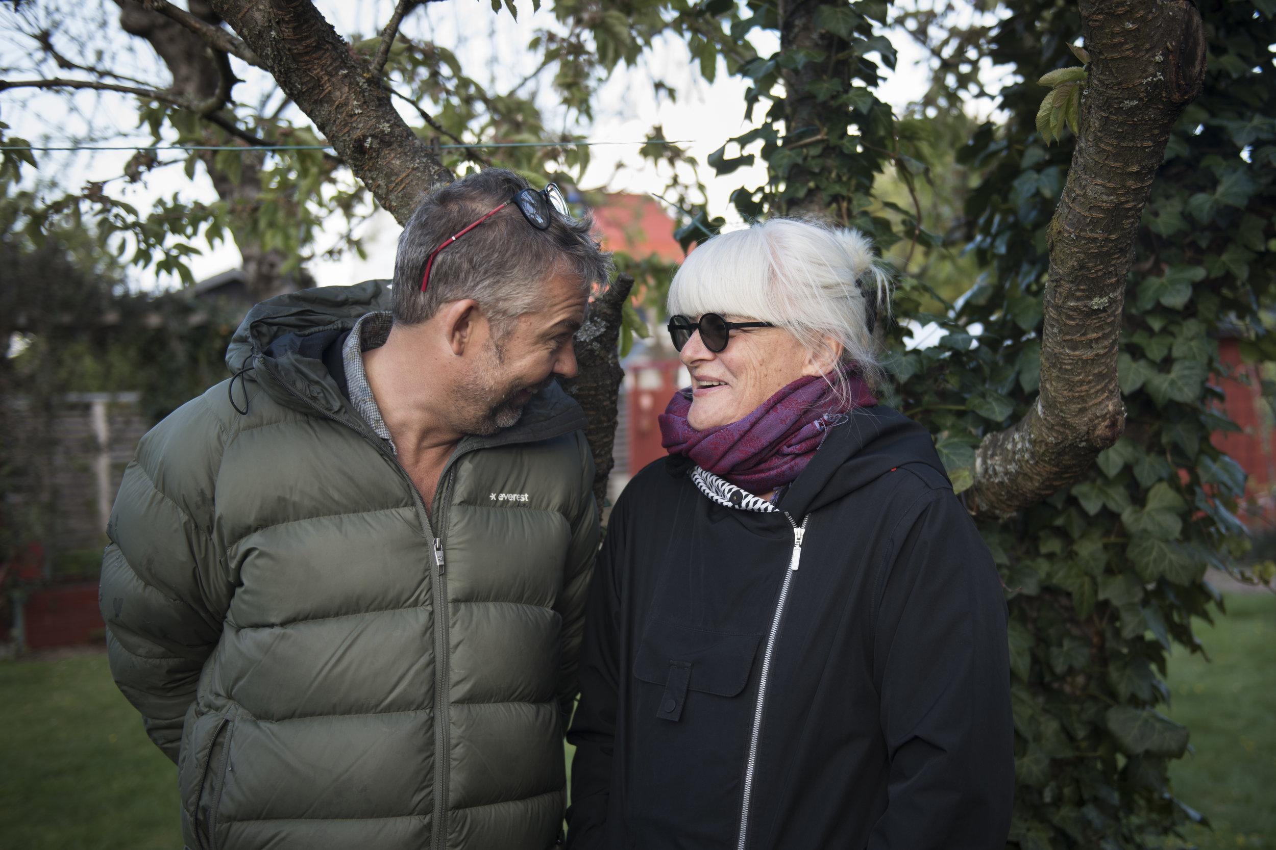 Peter Gruvander och Eva Persson