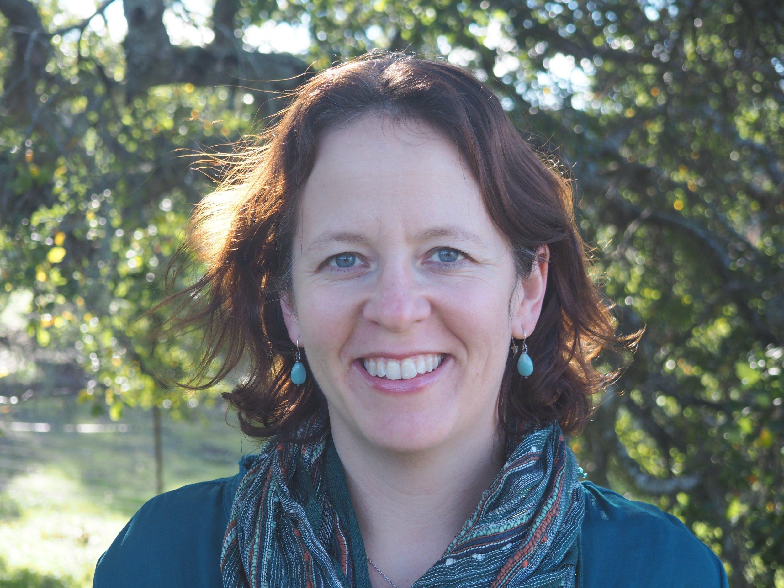 Den 29:e juni ställer sig Kimberly Nicholas på Torsjö Talks scen.  Foto: Janet Nicholas