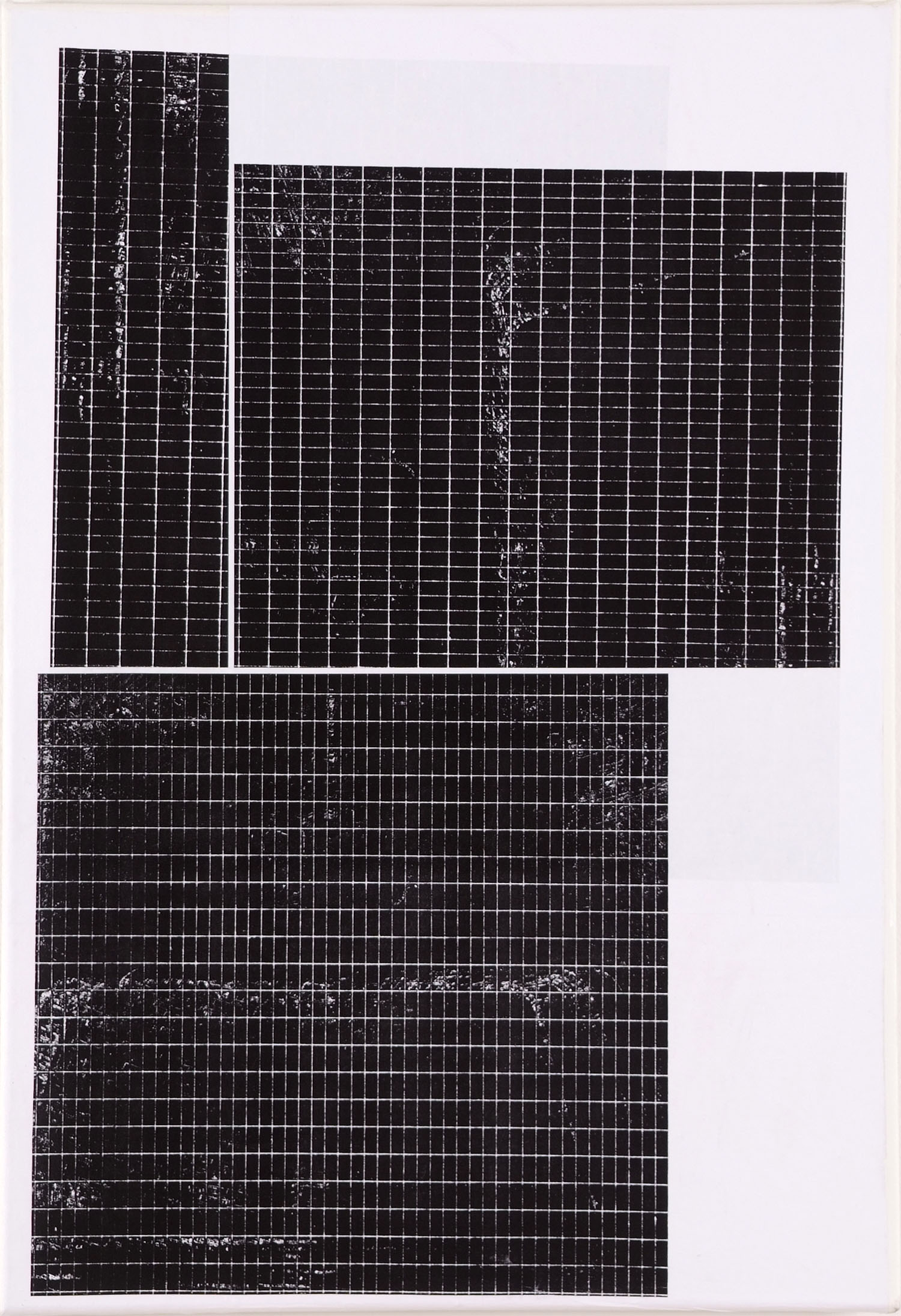 Untitled | 2009 | Papier auf Leinwand | 50 x 35 cm