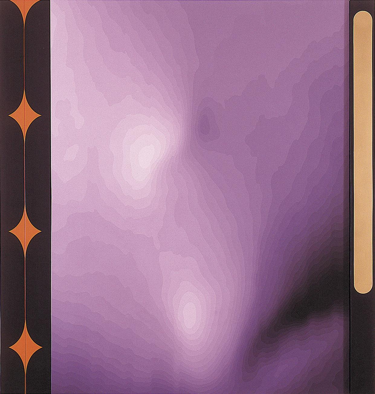o. T.  1990   Acryl auf Leinwand   245 x 230 x 15,5 cm