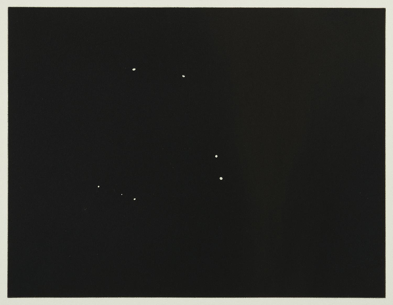 Coruscating Cinnamon Granules | 1996 | Foto-Radierung | 39,5 x 43,5 cm