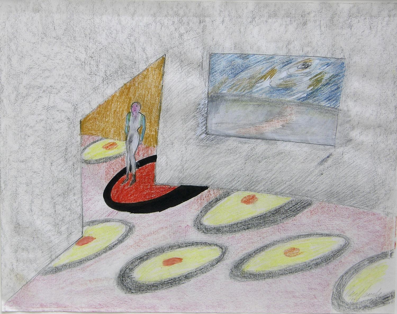 Inside - Outside | 1984 | Zeichnung | 47 x 60 cm