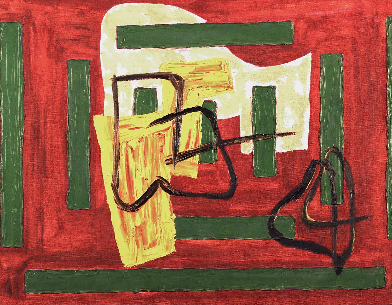 Deep Feelings | 1984 | Öl auf Leinwand | 61 x 76 cm