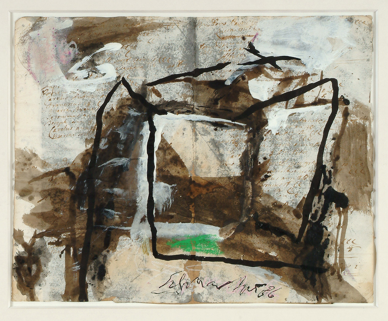 o.T. | 1986 | Mischtechnik auf Papier | 38 x 47 cm