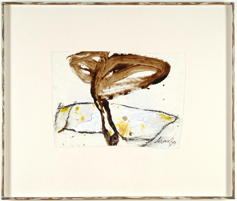o.T. | 1988 | Mischtechnik auf Leinwand auf Karton | 35 x 48 cm