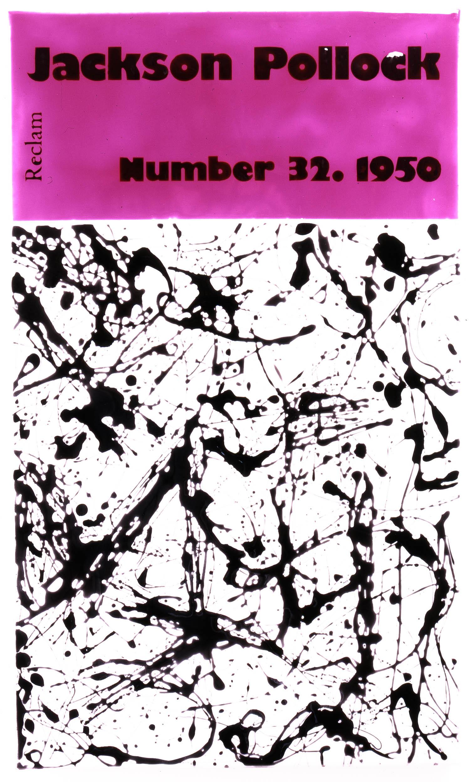 Jackson Pollock | 1996 | Acryl und Kunstharz auf Leinwand | 76,5 x 47,5 cm