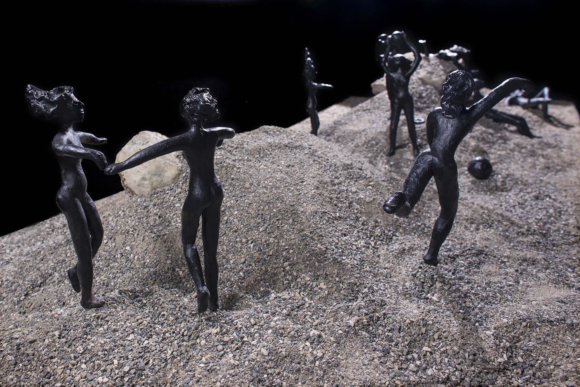 Installation 2013   Pinakothek Gaeta Odysseus erwacht   Teilansicht