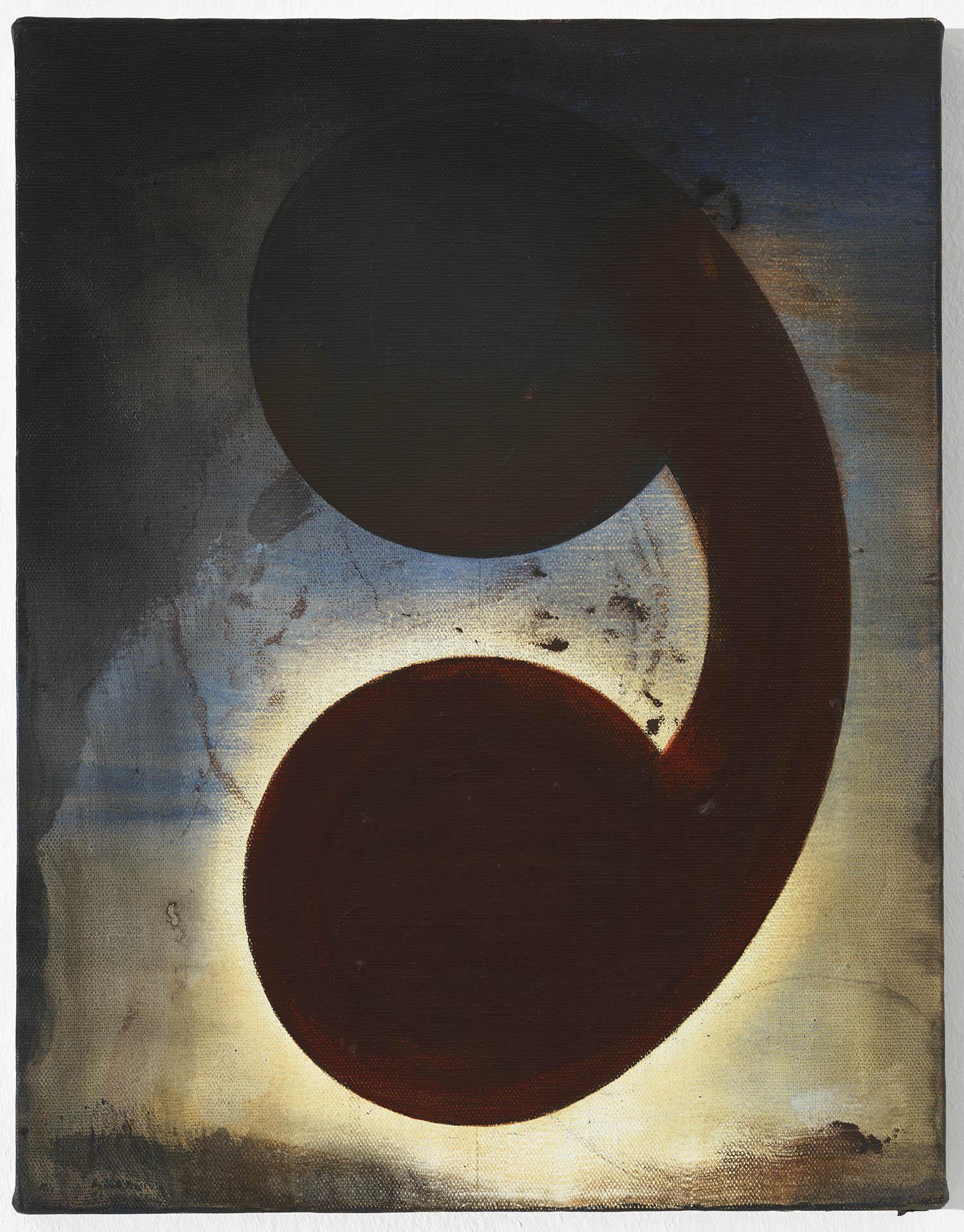 o.T. | 1991 | Acryl auf Leinwand | 46 x 35 cm