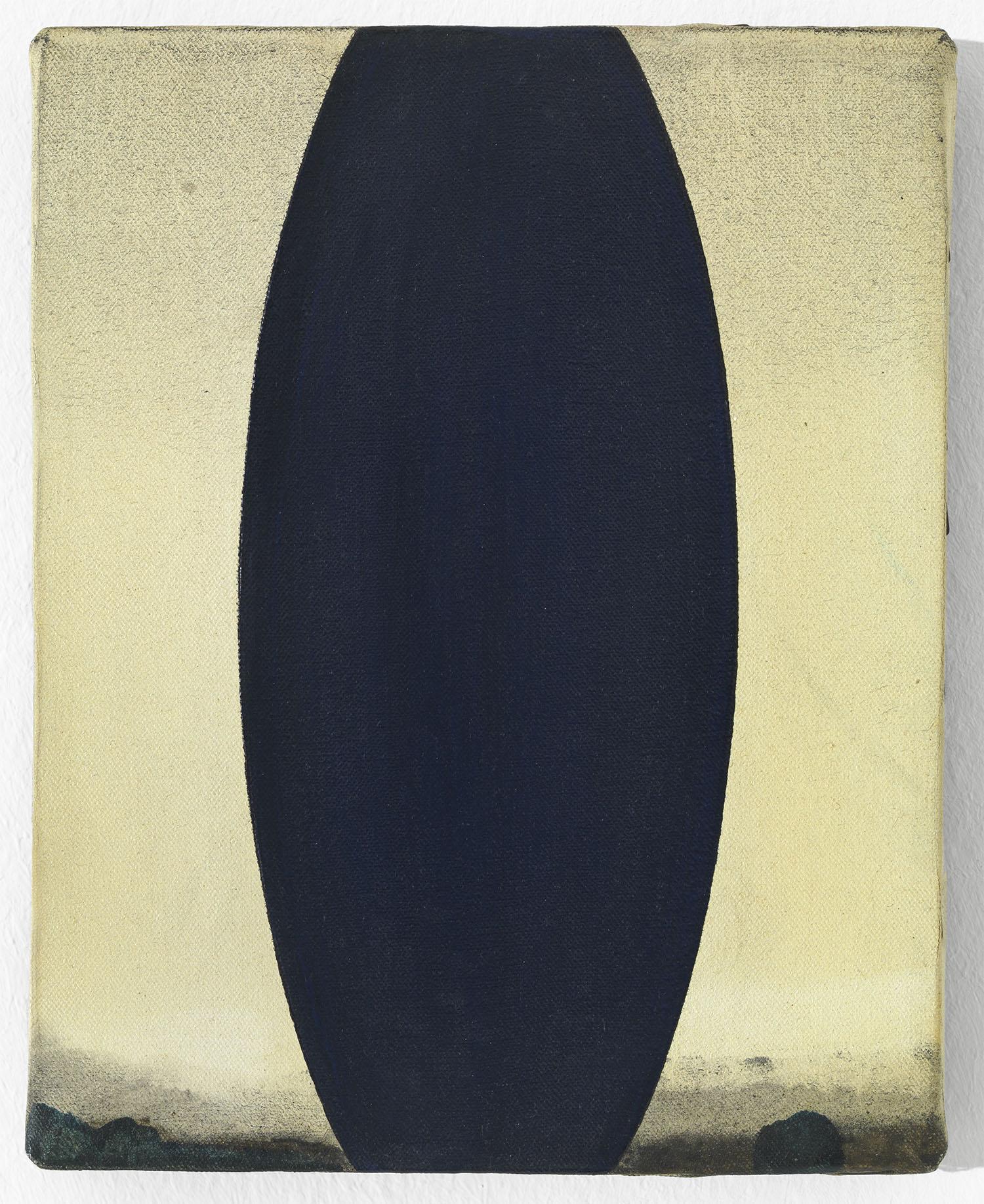 o.T. | 1987 | Öl auf Leinwand | 25 x 20 cm