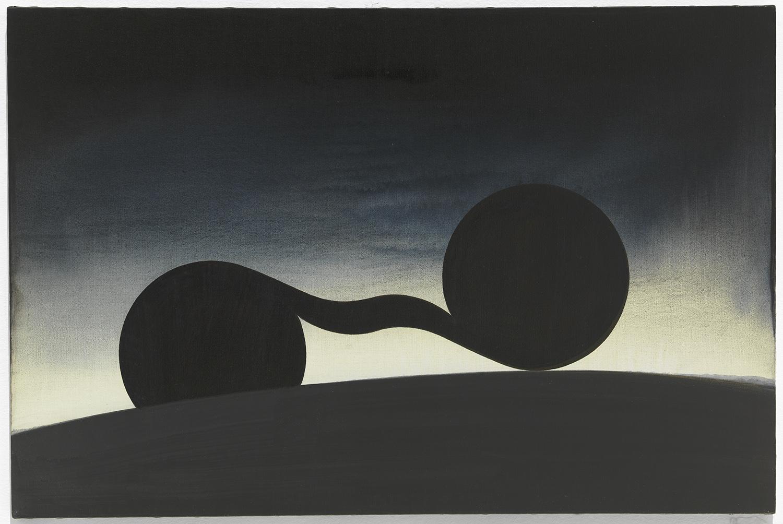The Fiction of Property | 1988 | Acryl auf Leinwand | 61 x 91,5 cm