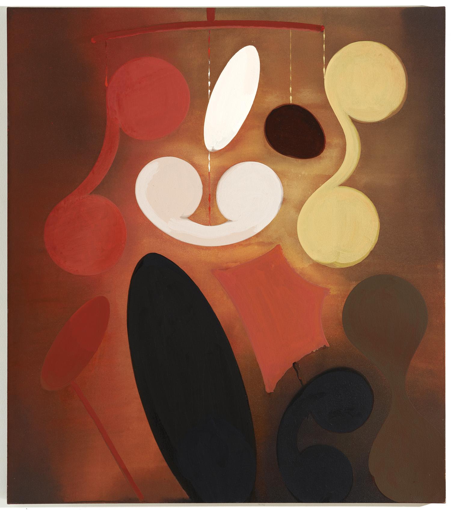 The Third Drink | 1992 | Acryl auf Leinwand | 133 x 117 cm