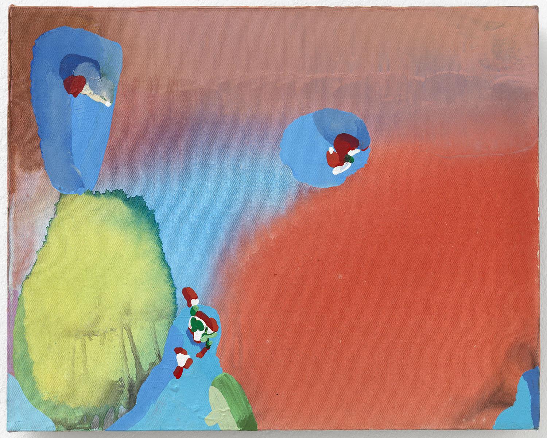 Painting for a Haunted House | 1997 | Acryl auf Leinwand | 40,3 x 50,6 cm