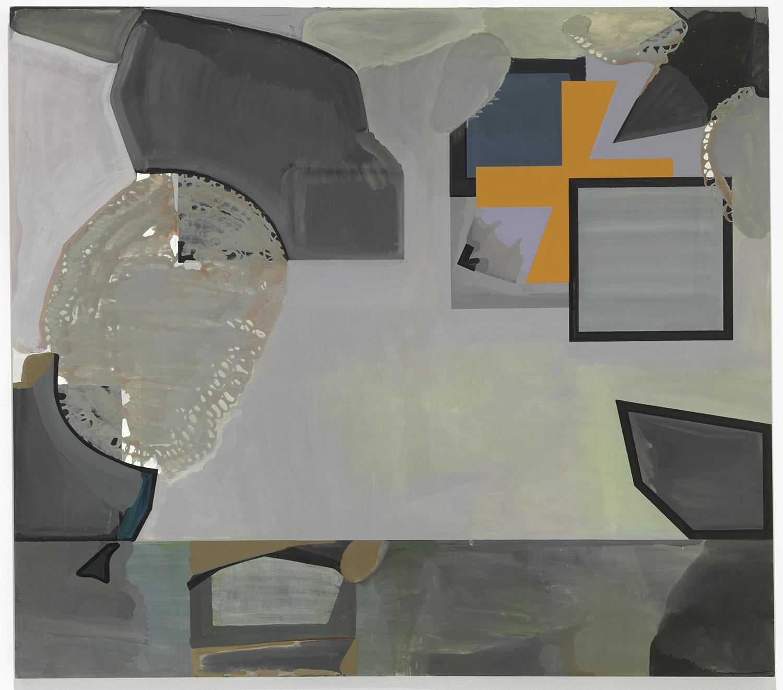 Painting of Paintings | 2009 | Öl und Acryl auf Leinwand | 260 x 210 cm