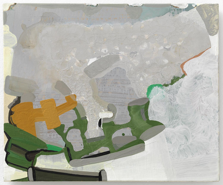 o.T. | 2004 | Acryl auf Leinwand | 50 x 61 cm
