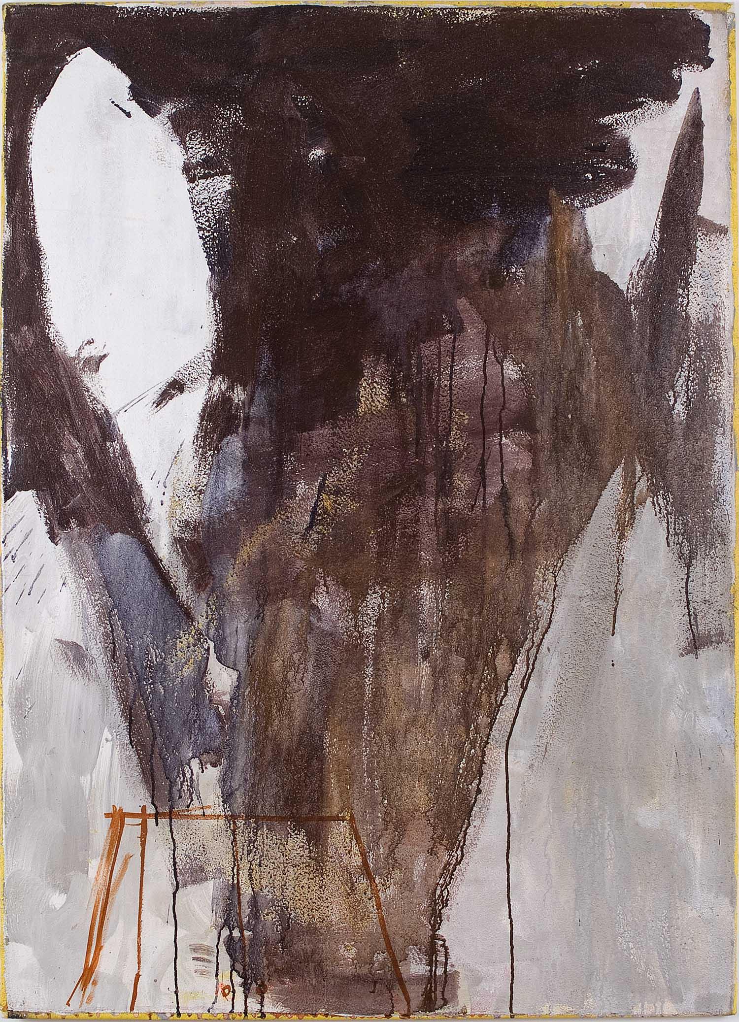 o.T. | n.d. | Öl und Mischtechnik auf Leinwand | 140 x 100 cm