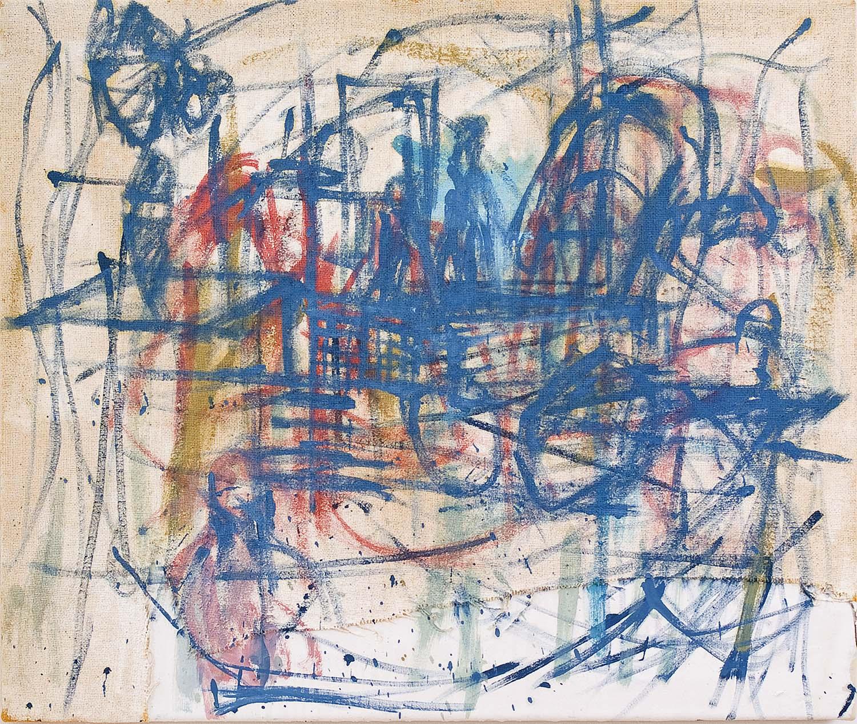o.T. | 2000 | Acryl auf Leinwand | 75 x 90 cm
