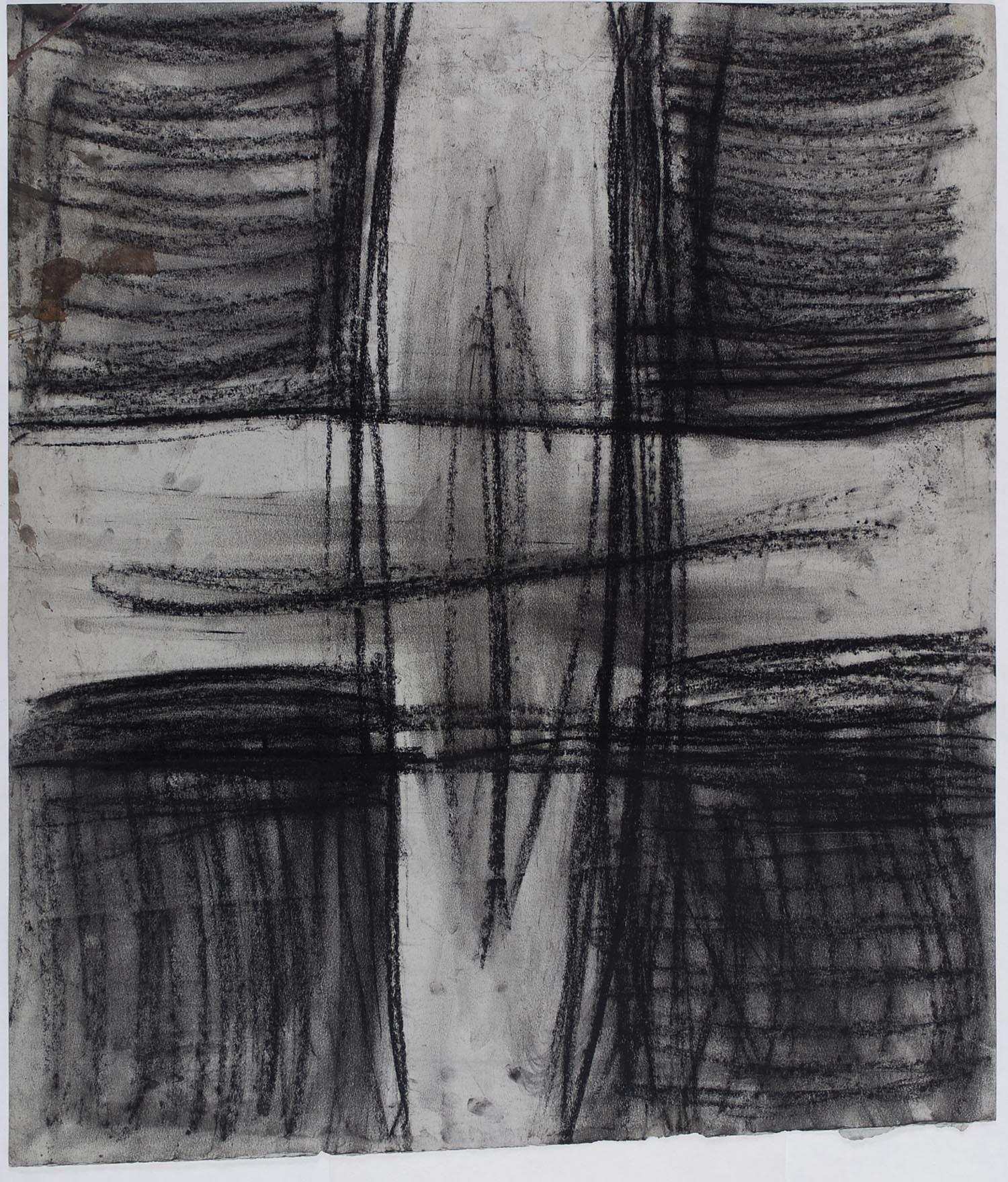 o. T. | n.d. | Kreide auf Papier | 69,5 x 81,5 cm