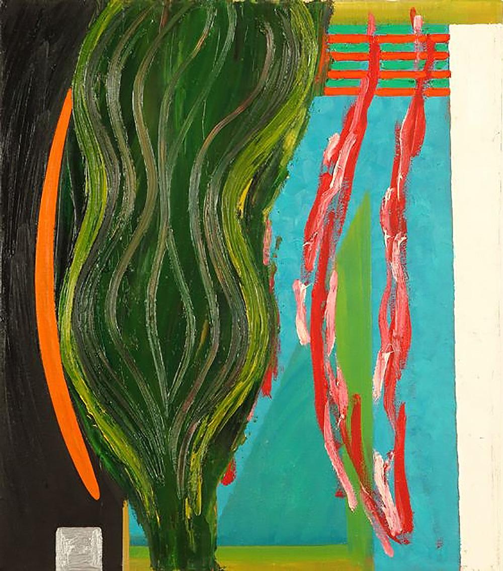 Keine Parole | Öl auf Leinwand | 1984 | 63 x 55 cm