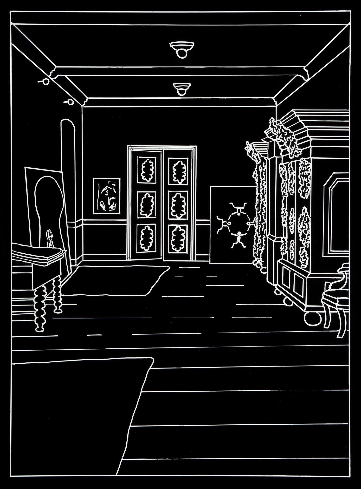 Der Besuch (6) | 1993 | Fotografie | 46,5 x 35,5 cm