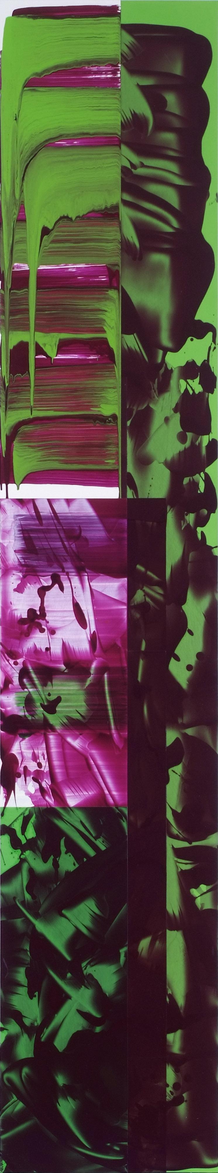 592 | 2007-09 | Öl und Acryl auf Leinwand | 242 x 46 cm