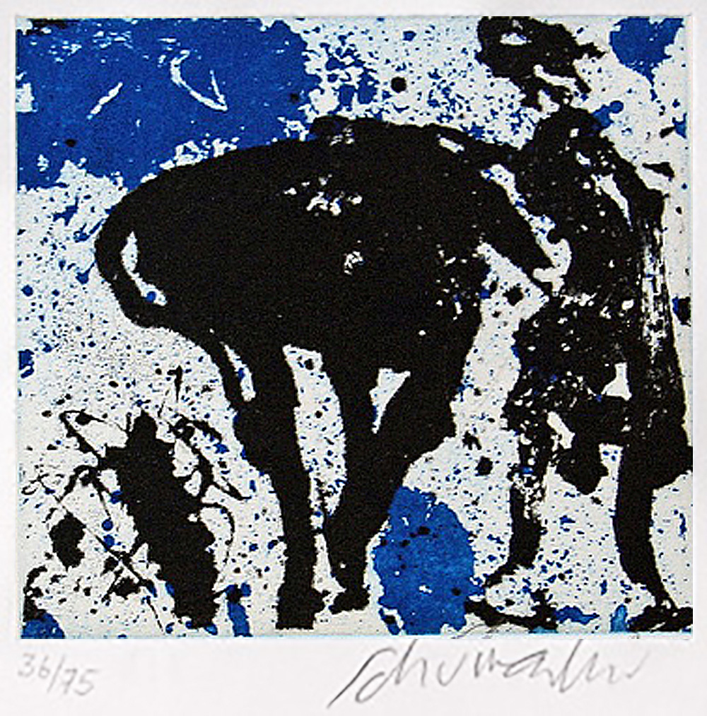 o.T. | 1986 | Radierung | 12,6 x 13,6 cm