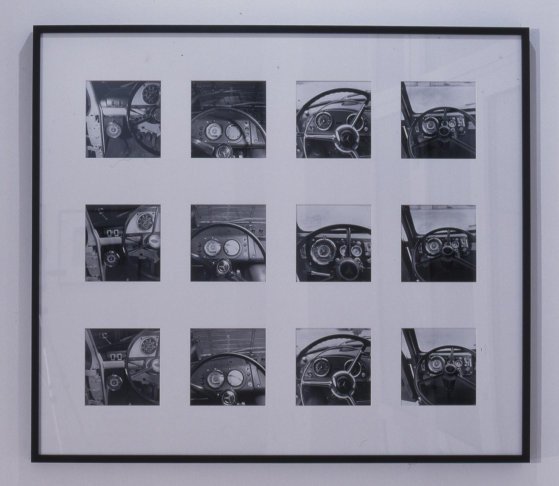 Armaturen | 1969 | 12 schwarz-weiß Fotos auf Papier, montiert auf Karton | je 20 x 20 cm
