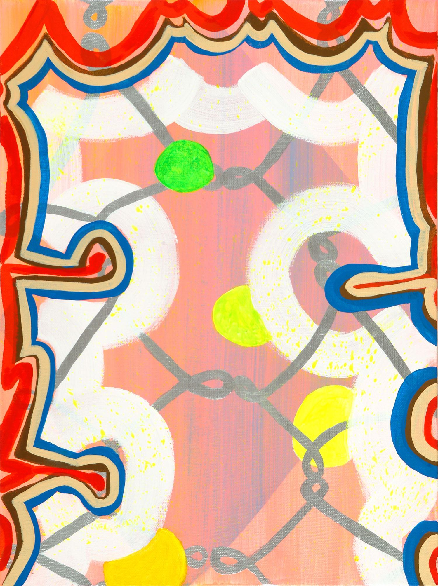 Urban Orbs | 2007 | Acryl auf Leinwand | 41 x 30,5 cm