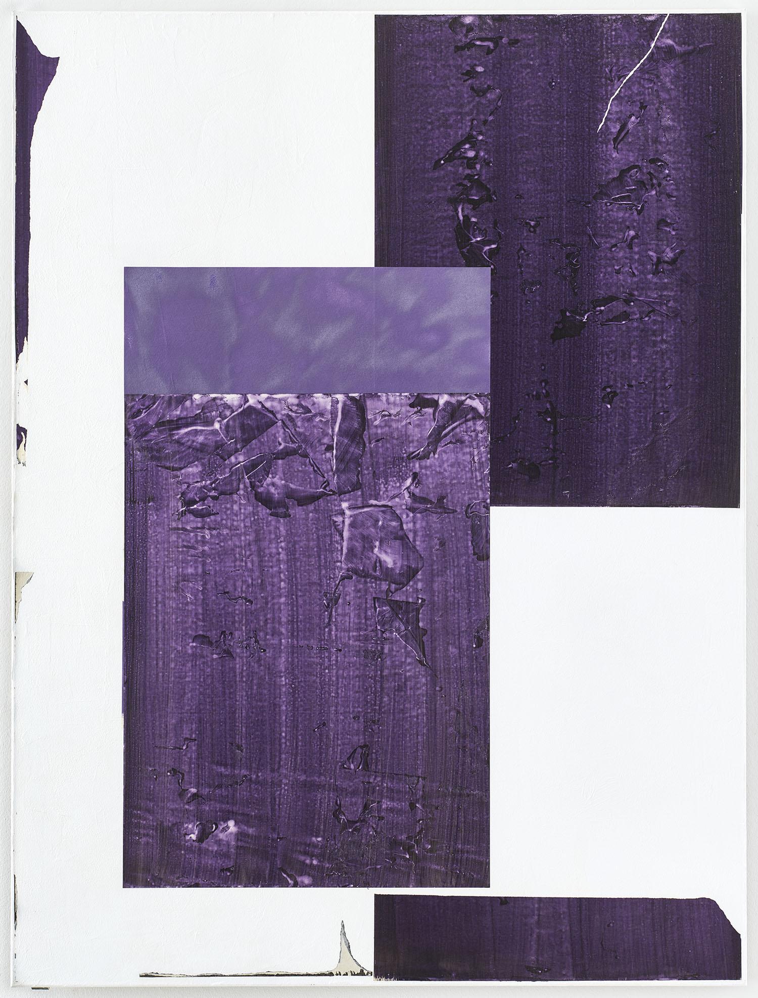 UntitledCollage | 2016 | Acryl, Pigment, Spraylack auf Papier, Acryl auf Nessel | 160 x 120 cm | x