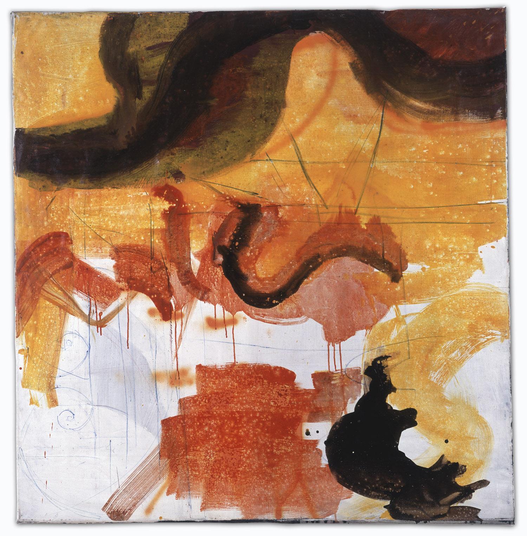 o.T. | 1994 | Öl auf Leinwand | 144 x 140 cm