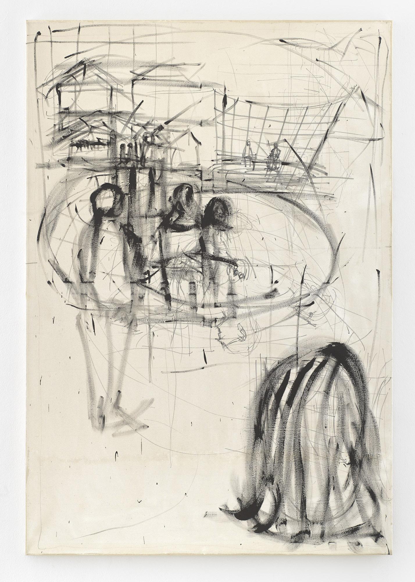 Education | 2000 | Acryl auf Leinwand | 215,5 x 146,5 cm