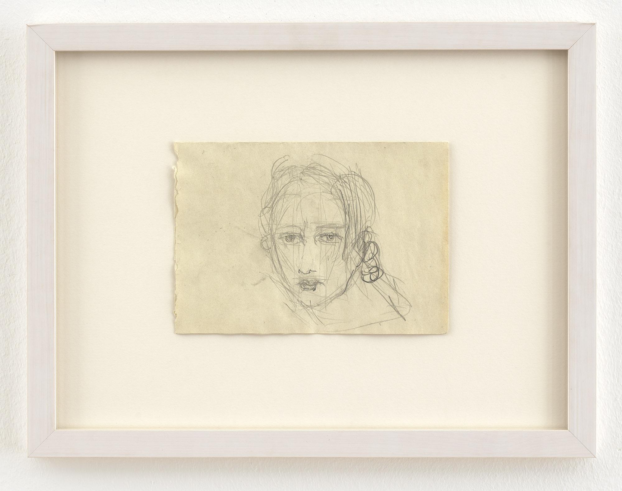 Clara Schumann II | 1999 | Bleistift auf Papier | 14,8 x 21 cm