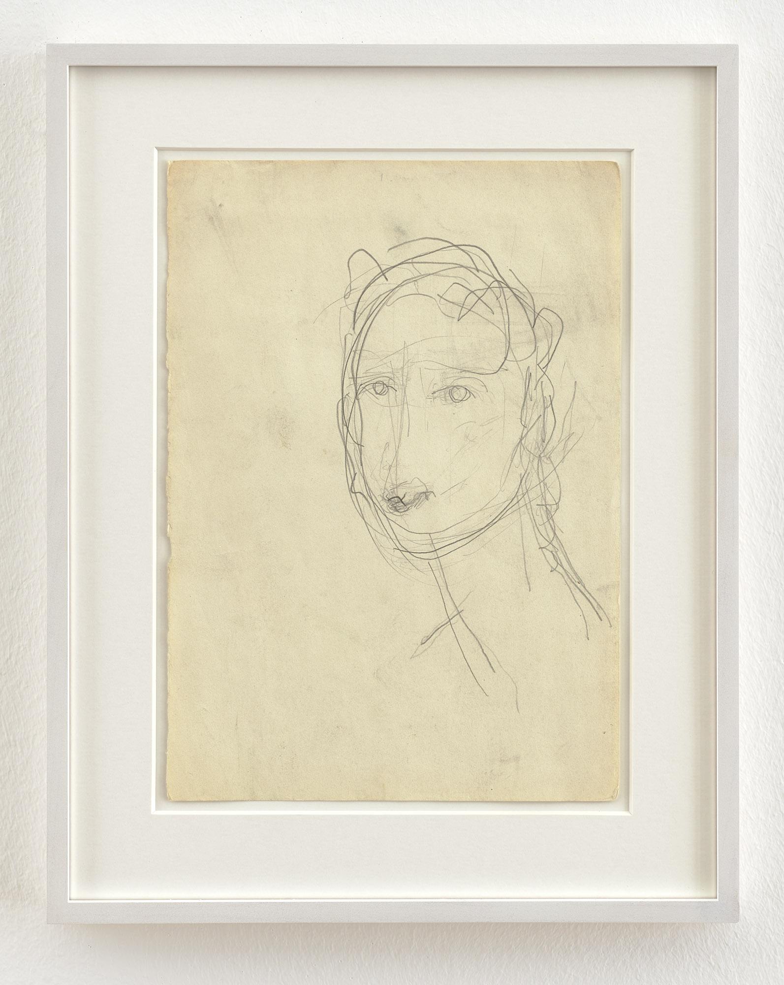 Clara Schumann I | 1999-2000 | Bleistift auf Papier | 29 x 21 cm