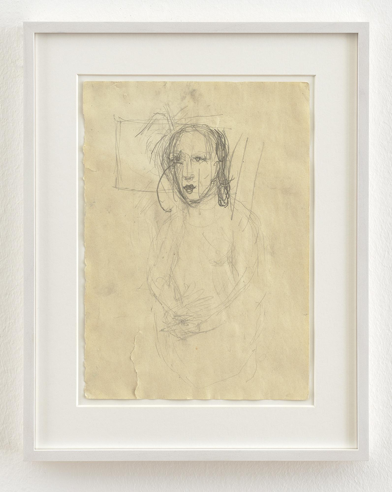 Clara Schumann III |1999-2000 | Bleistift auf Papier | 29 x 21 cm