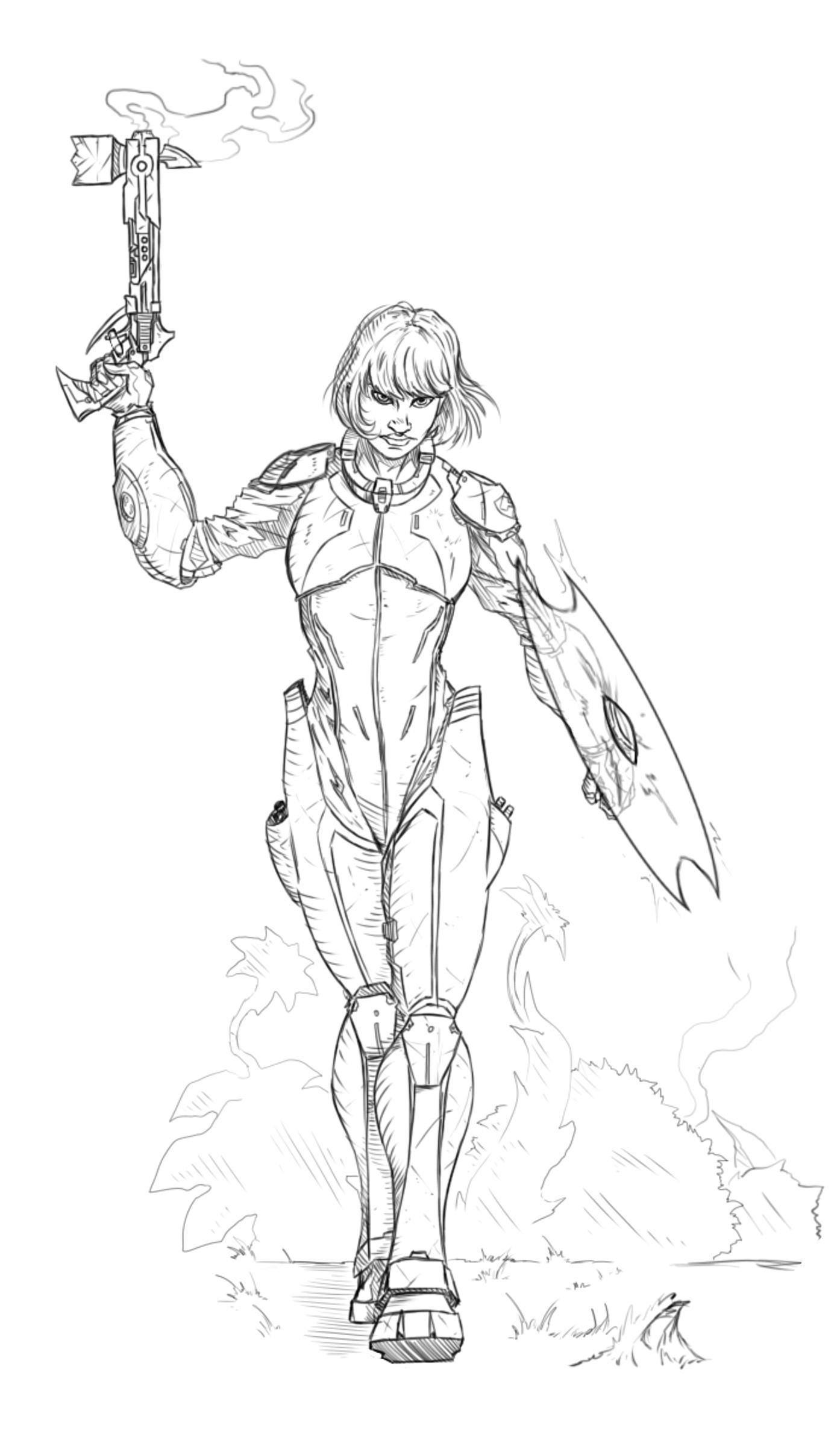 Zelda - Blast Warden. Ranged DPSers of the Warden Corps.