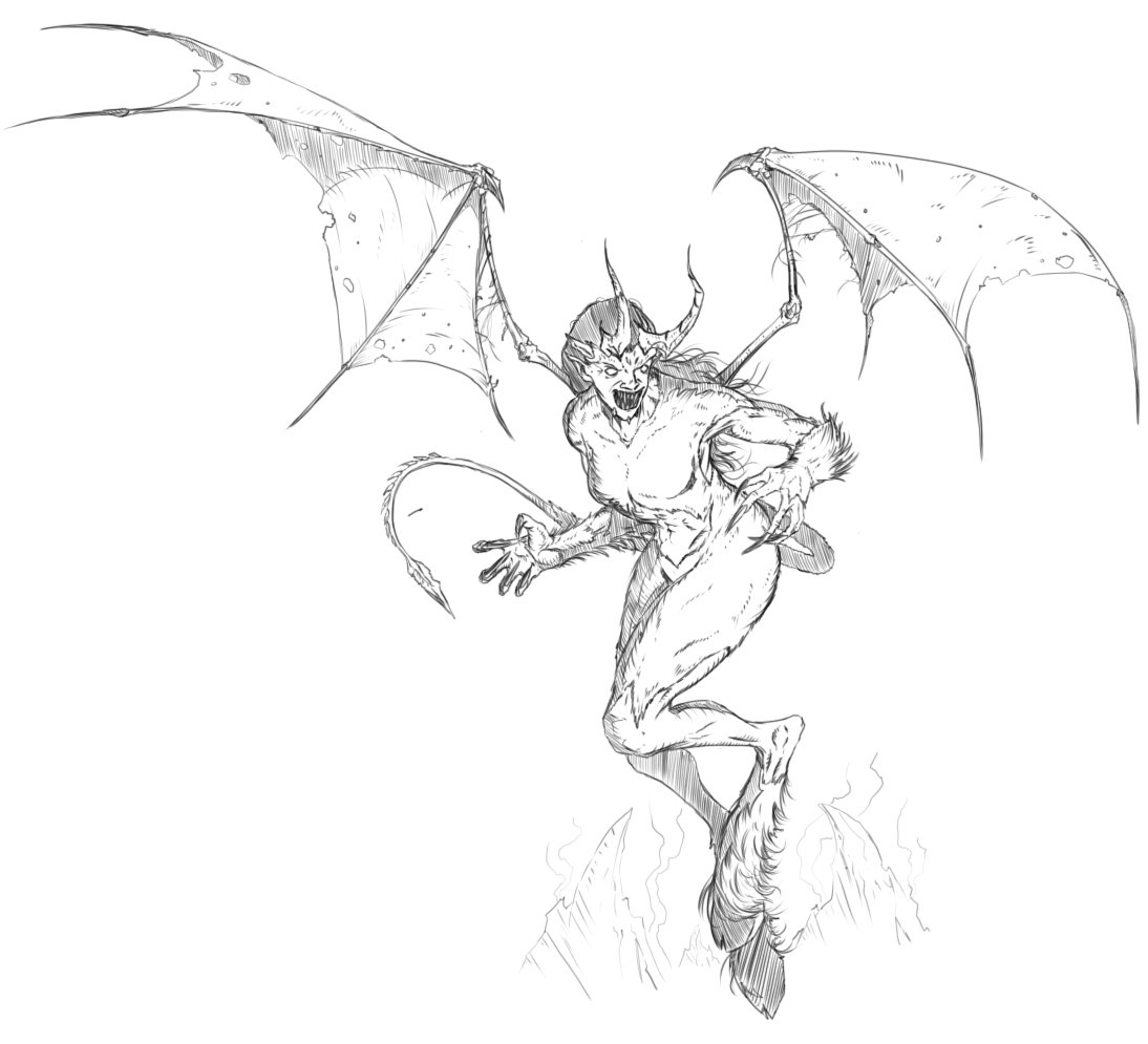 The Succubus - imps go crazy for this one?….
