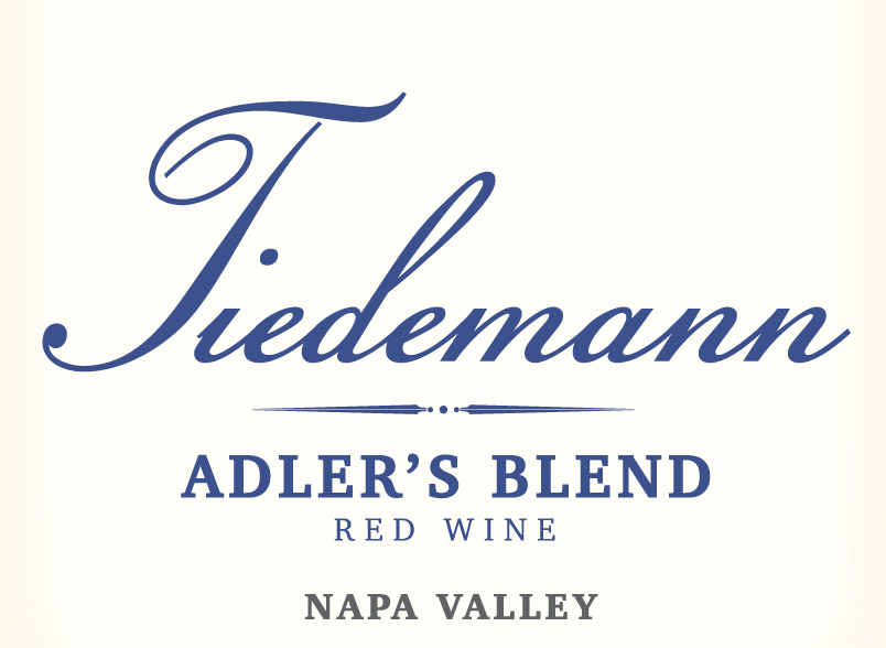 2015 Adler's Blend - This blend Zinfandel, Petite Sirah and Lagrein is named after Carl Tiedemann's grandson, Adler Bear Carris. On the palate there are juicy fruit flavors of dense black fruits with a little hint of oak. This combination makes the palate pure and vibrant. The denseness of fruit, coupled with some acidity, reveals the wine's youth. The combination of the wine's youth, alcohol level (15.2%) and spiciness produce a rather hot, complex finish.
