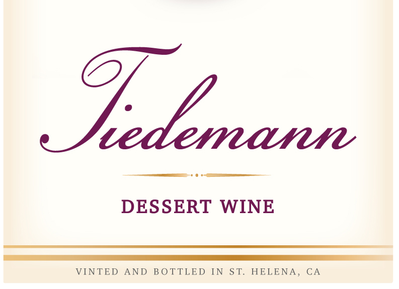2008 TiedemannDessert Wine - Aromas of black cherries, strawberries, blackberry, black currants and leather. There are undertones of vanilla, cigar and spice from the oak barrels we use to age this wine. The 2008 Tiedemann Dessert wine is full-bodied with long velvety tannins and a silky smooth palate. It has a very nice subtle sweetness. The finish on this dessert wine is long and packed with jammy fruit and vanilla spiciness.