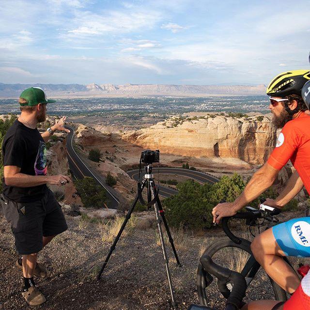 @justinbalog providing direction on location during the making of @rollmassif #bts #makingmovies #indiefilms 📸 @bryanmarkwardt