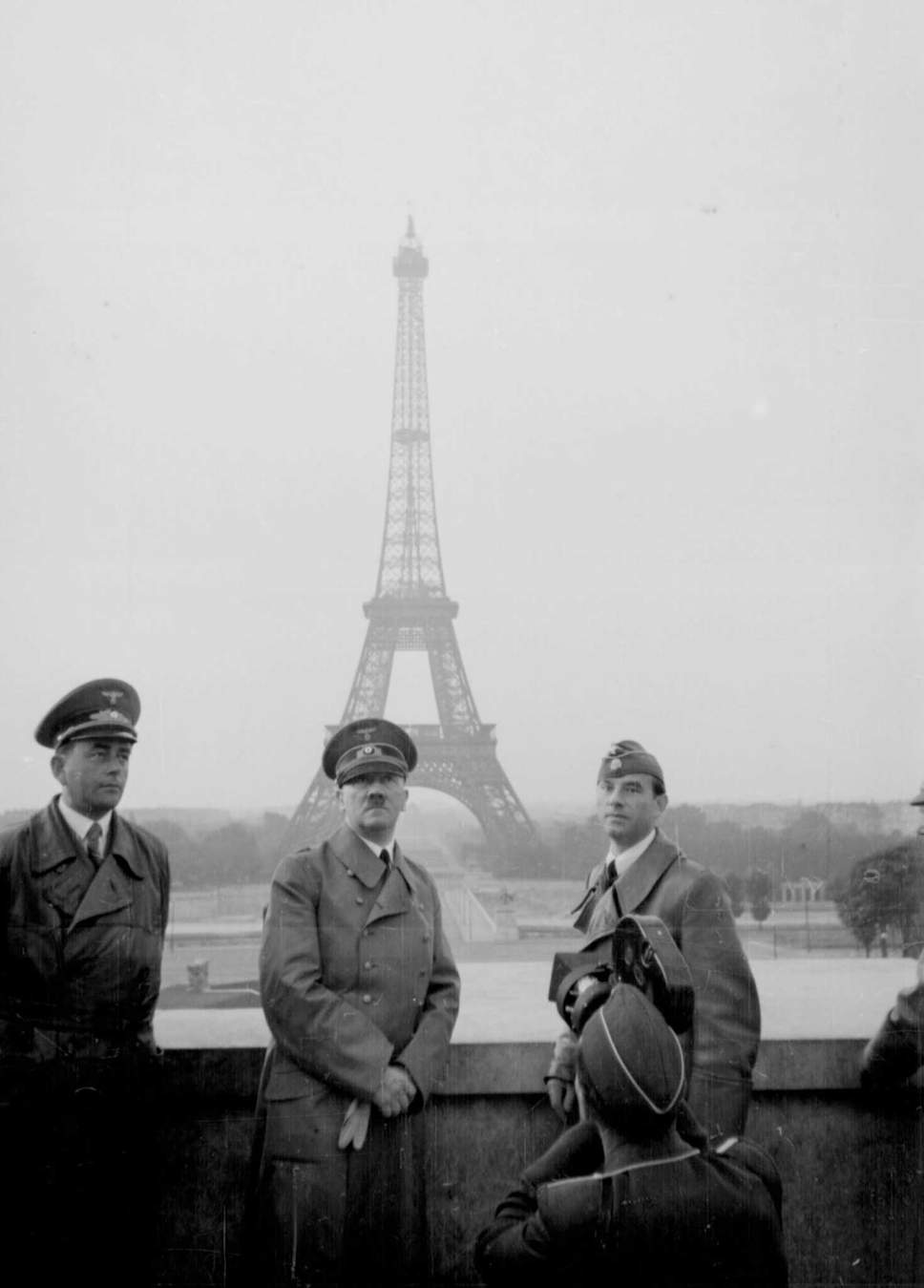 The Storm over Paris - William Grubman - The Nazi Occupation of Paris