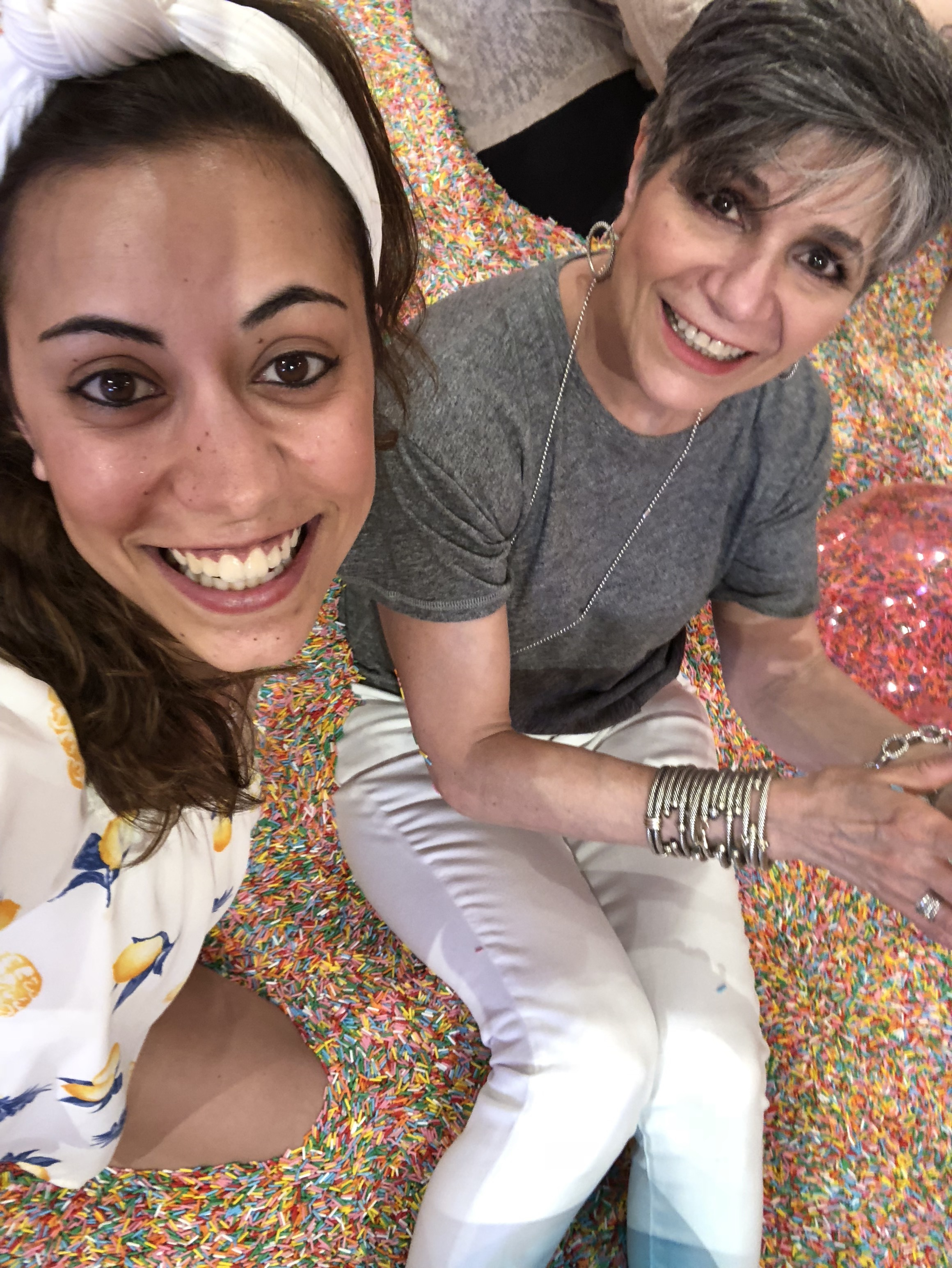 With the best boss ever in a pool full of jimmies...life doesn't get much better
