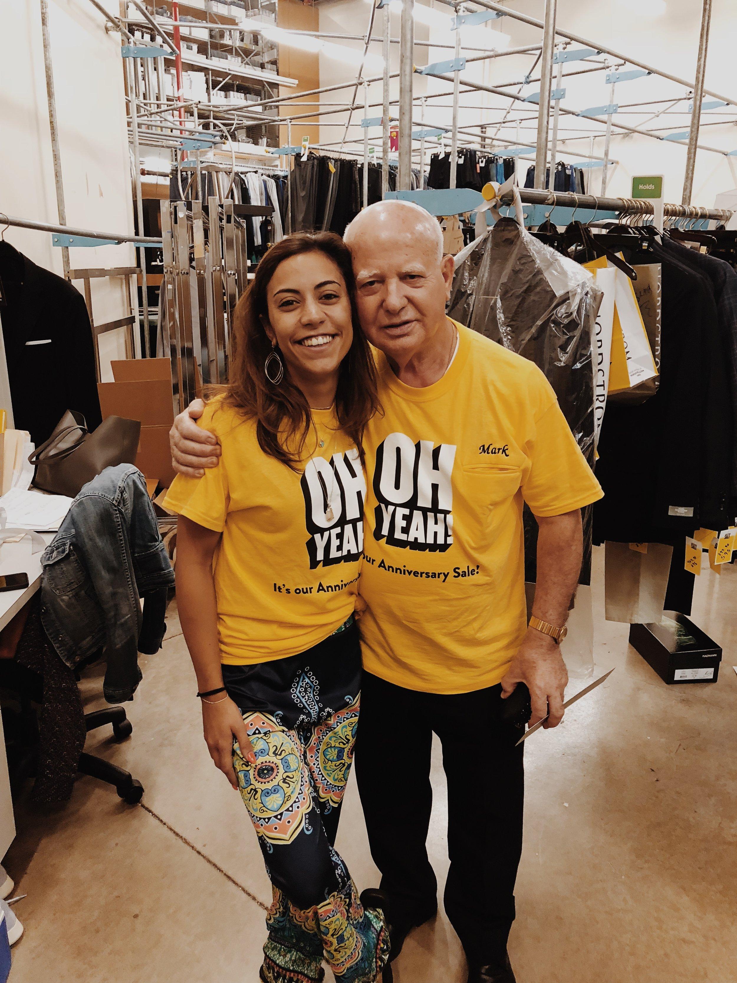 One of my favorite tailors at NORDSTROM KOP- Mr. Mark!