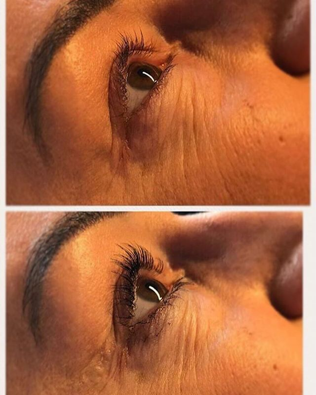 Imagine going from waking up with lashes like the top picture to waking up with lashes like the bottom picture😻 effortlessly beautiful, thick, long, curly lashes💗💗💗 You can acheive this with our brand new Elleebana lash lift treatment!!💋 Pop down to the salon for a patch test and we will get you booked in🔥🔥